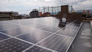 福岡県F市50KW太陽光発電