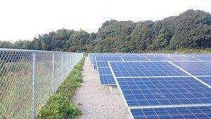 福岡県I市300KW太陽光発電
