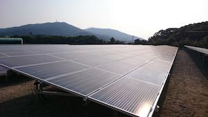 福岡県K市400KW太陽光発電
